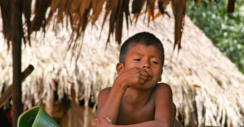 Emberá child, Panama I © cgordon8527 / Pixabay