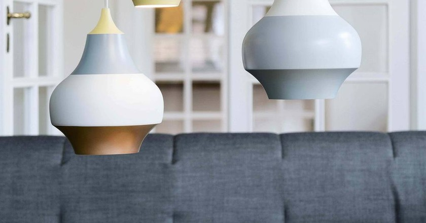 Cirque pendant lights by Clara von Zweigbergk |  image courtesy of Louis Poulsen