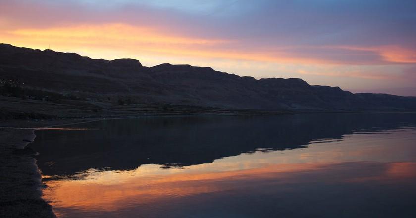 Sunset at the Dead Sea, Israel   © Yair Aronshtam / Flickr