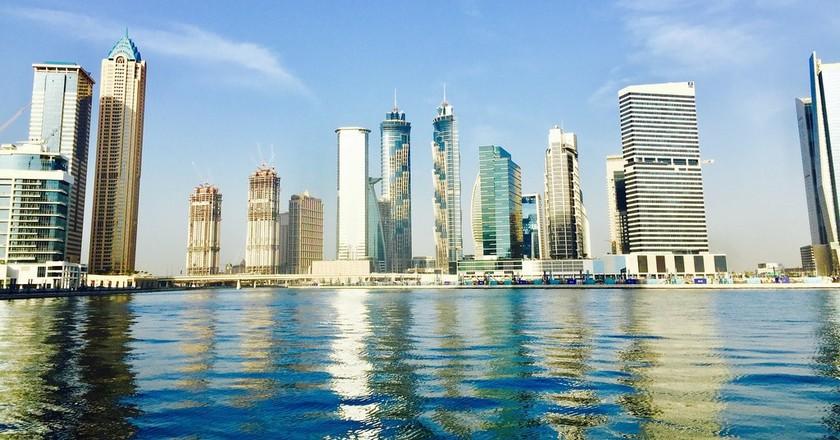 Dubai Water Canal   © lmoon/Pixabay