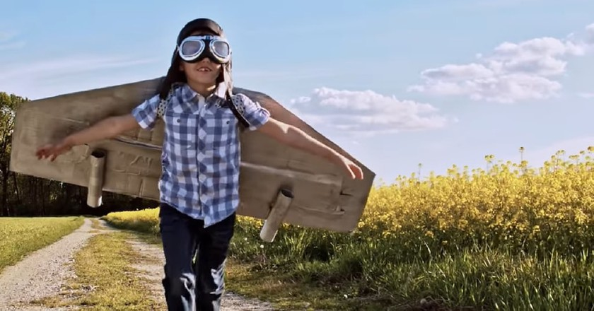 The contest challenges people to make personal flying devices | Courtesy Boeing/ YouTube
