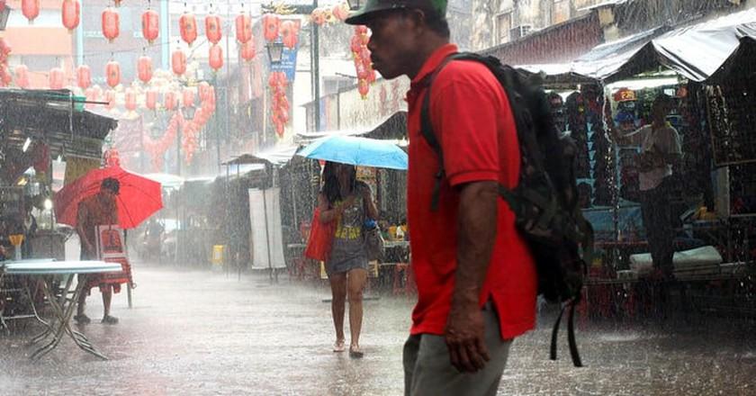 Heavy rain in Kuala Lumpur  | © John Ragal/Flickr