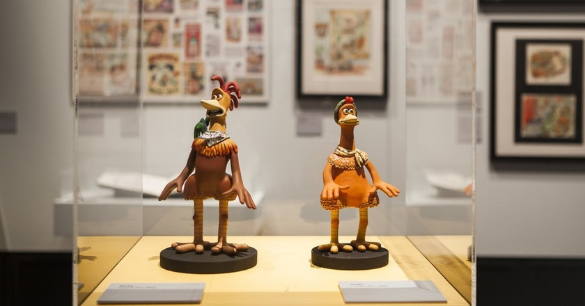 Wallace & Gromit and Friends: The Magic of Aardman Courtesy ACMI