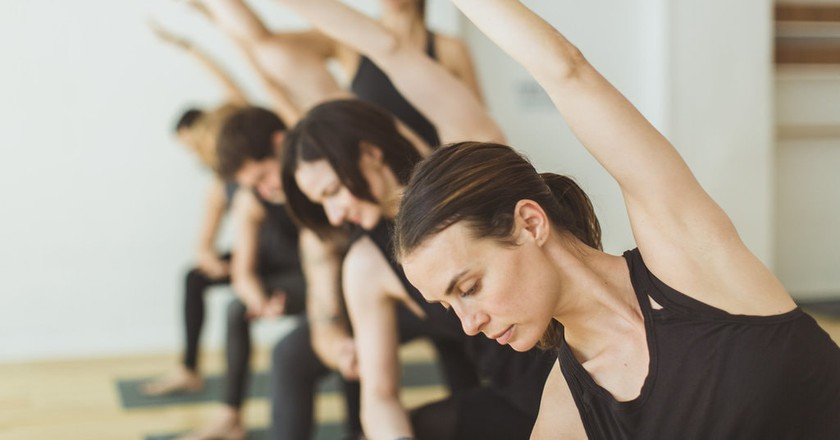 Streching | Courtesy of In Yoga
