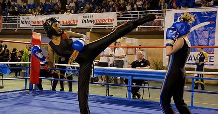Kickboxing  | © Lyliade21/WikiCommons