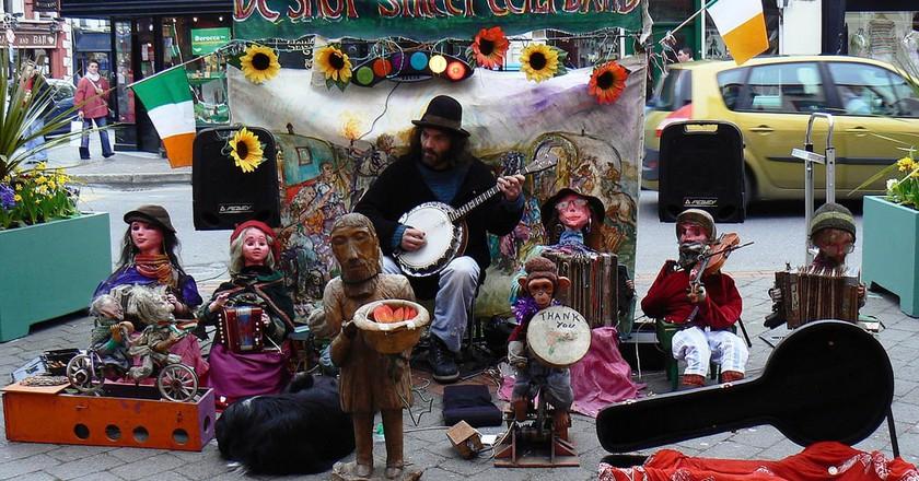 Killarney Market band!   © mozzercork/ Flickr