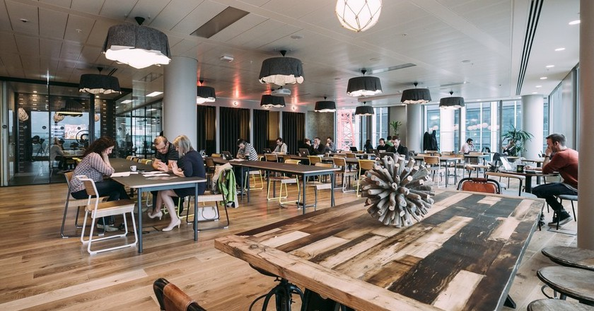 London - WeWork South Bank Lounge | WeWork