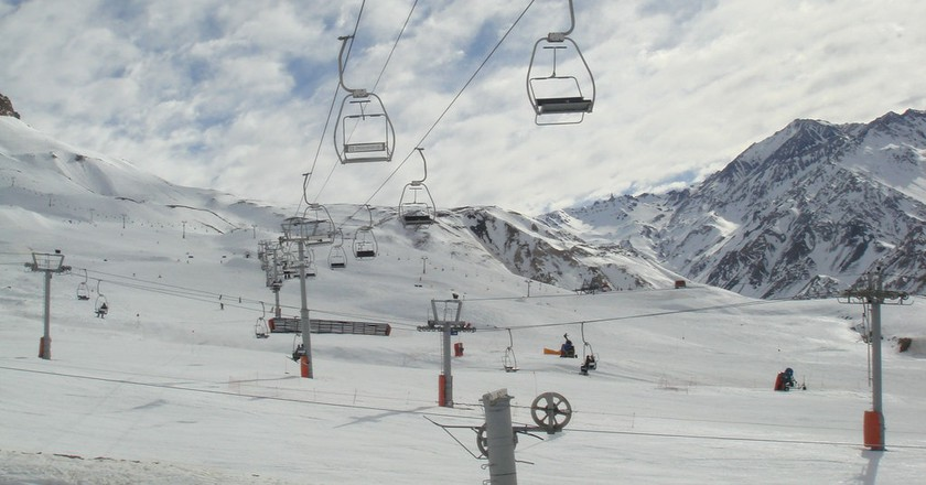 Chairlifts in Las Lenas | © mik_p/Flickr