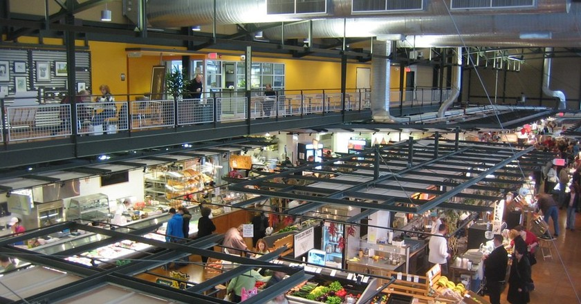 "<a href=""https://www.flickr.com/photos/37171504@N00/278026361"" target=""_blank"" rel=""noopener noreferrer"">Milwaukee Public Market | © Jeramey Jannene / Flickr</a>"