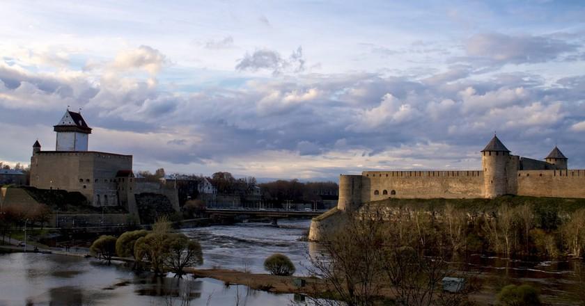 Narva and Ivangorod fortresses | © Tony Bowden/Flickr