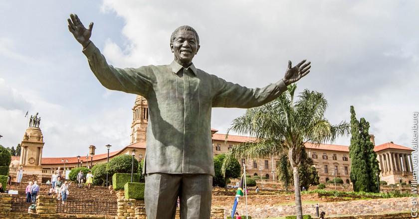 Statue of Nelson Mandela at the Union Buildings, Pretoria | © Willem van Valkenburg / Flickr
