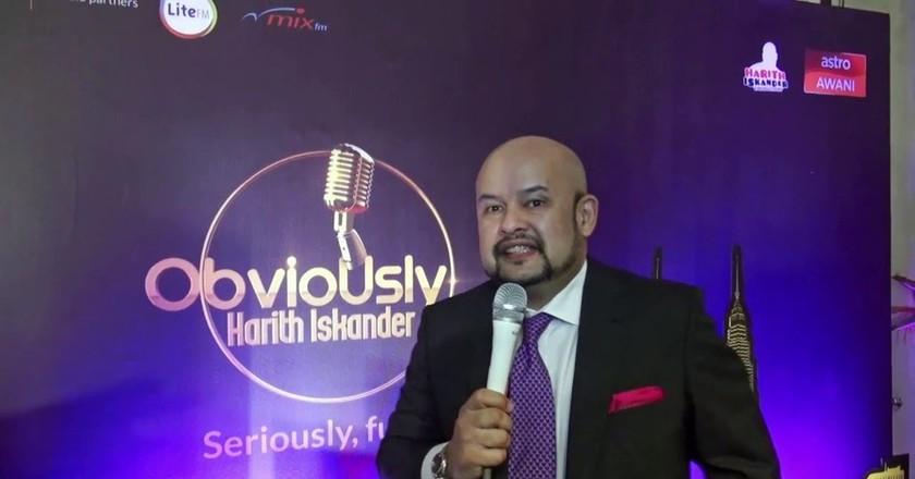 Harith Iskander hosts 'Obviously Harith Iskander'  | © Astro Malaysia/YouTube