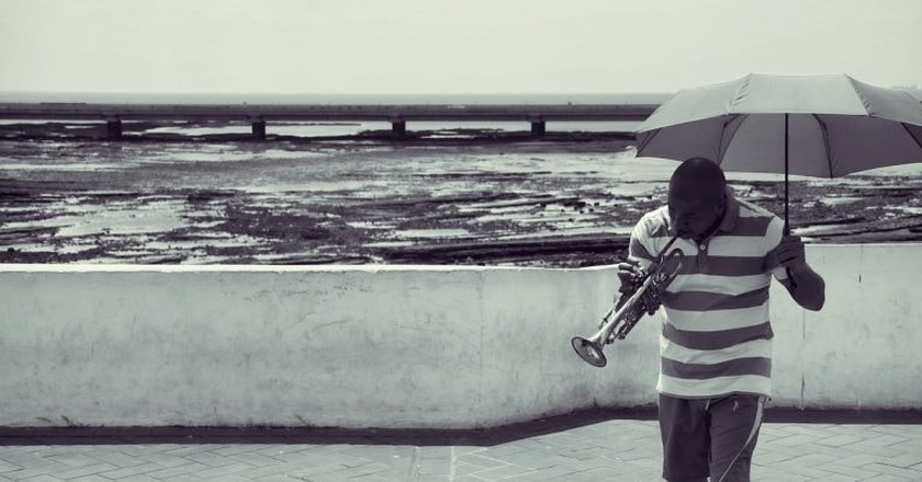 Man playing the trumpet in Panama | © StockSnap / Pixabay
