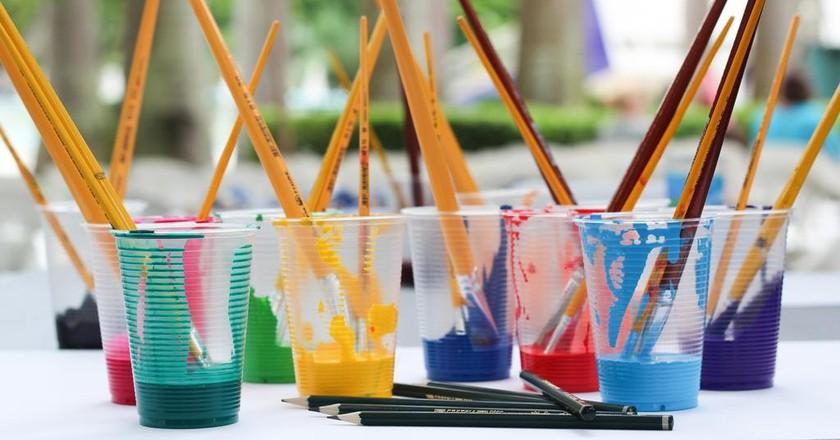 Paintbrushes   © Jadson Thomas/Pexels