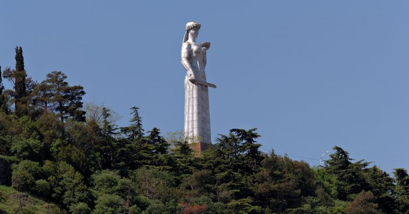 The Statue of Mother of Georgia | © Alexxx Malev / Flickr