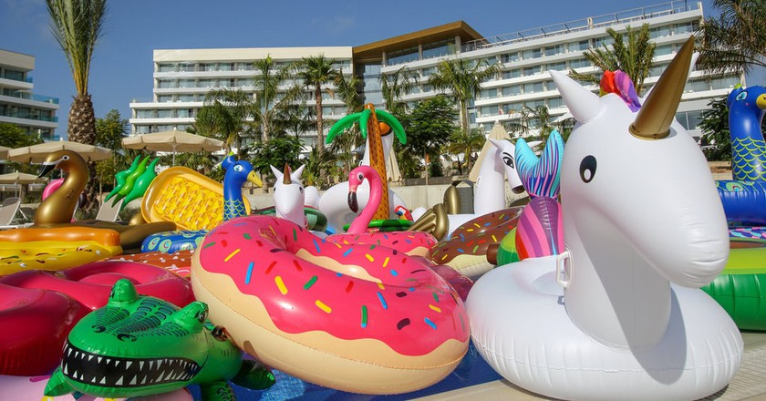 Inflatables | Courtesy of Hotels.com