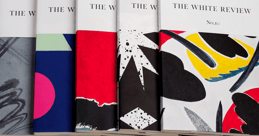 Issues of the White Review, courtesy of the magazine