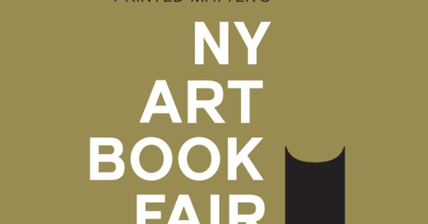 Logo of the 2017 New York Book Art Fair