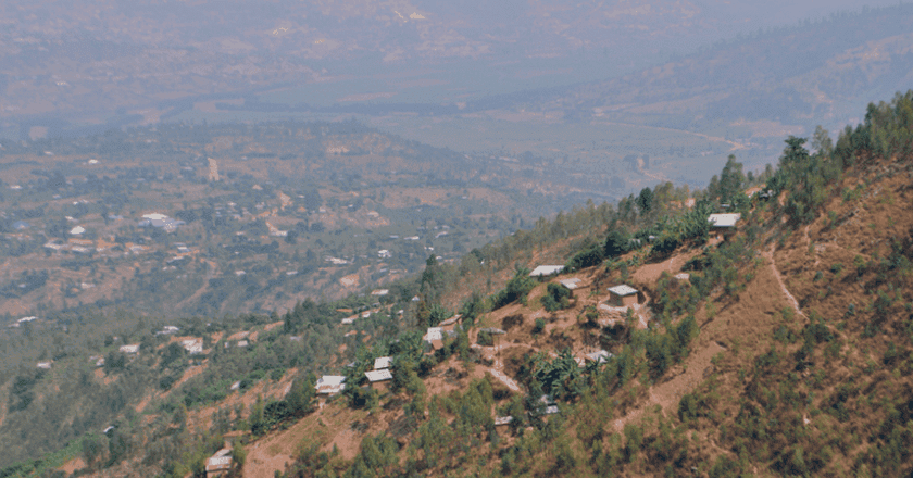 Views from Mount Kigali | © Leah Feiger