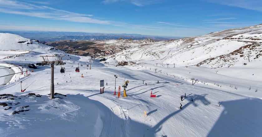 The Sierra Nevada Ski Resort|© Irina Sen/Shutterstock