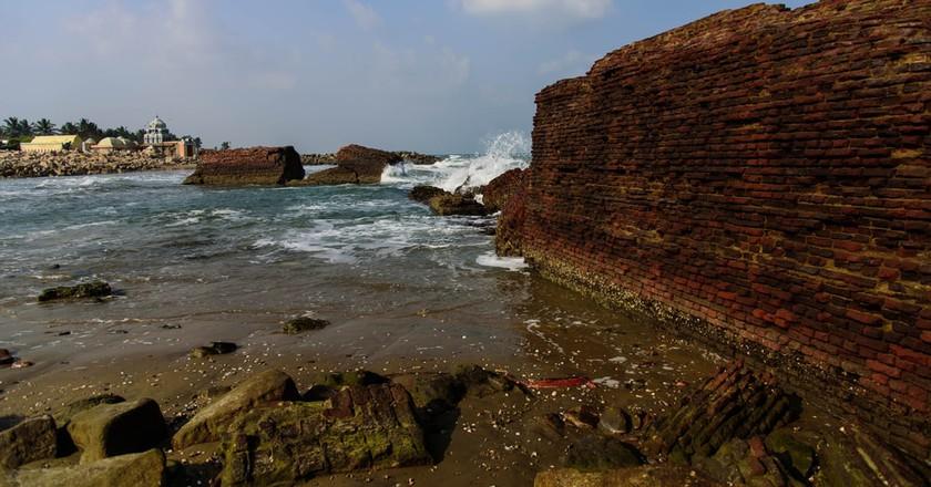 The Bay of Bengal from Tranquebar | © Mahul Milan Mukherjee / shutterstock
