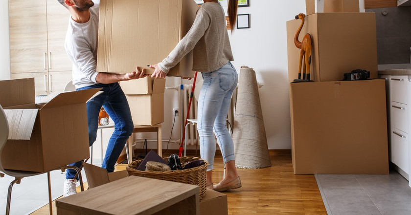 Moving doesn't have to be stressful | © Solis Images/Shutterstock