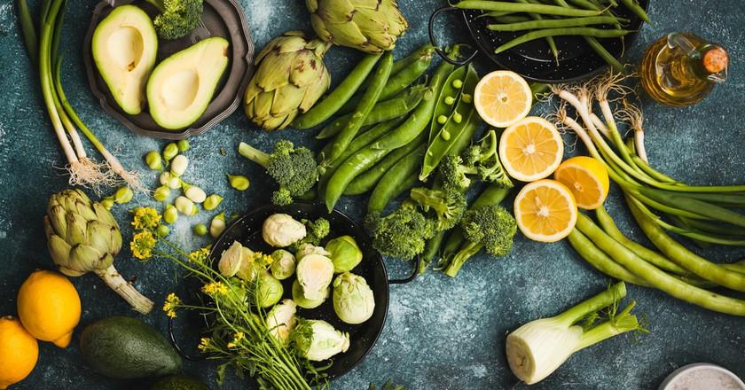 Veggie food | © Shutterstock