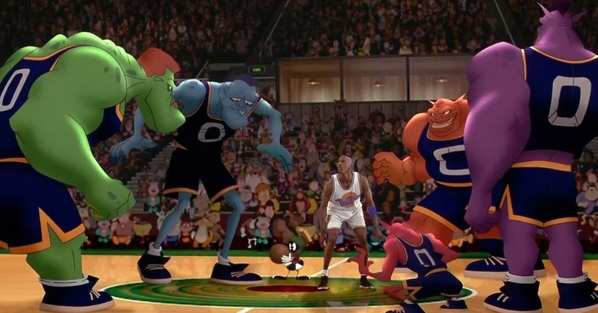 Still from Space Jam © Warner Bros.
