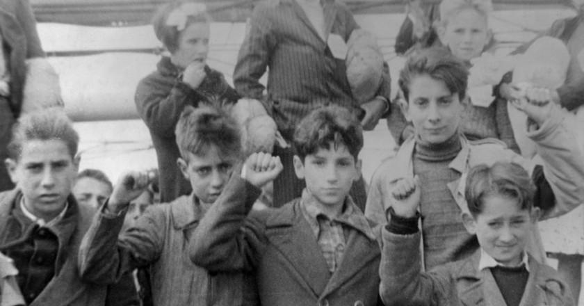 Spanish children during the Spanish Civil War | © Locospotter/WikiCommons