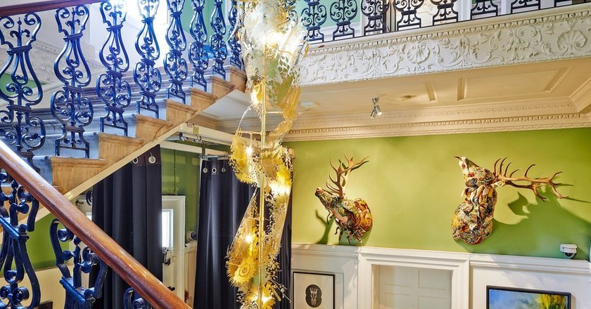 Staircase and hallway   © The House of St Barnabas