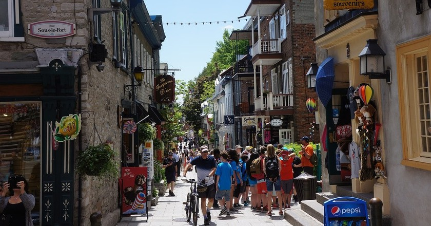 Quebec City   ©thetsoetns / Pixabay