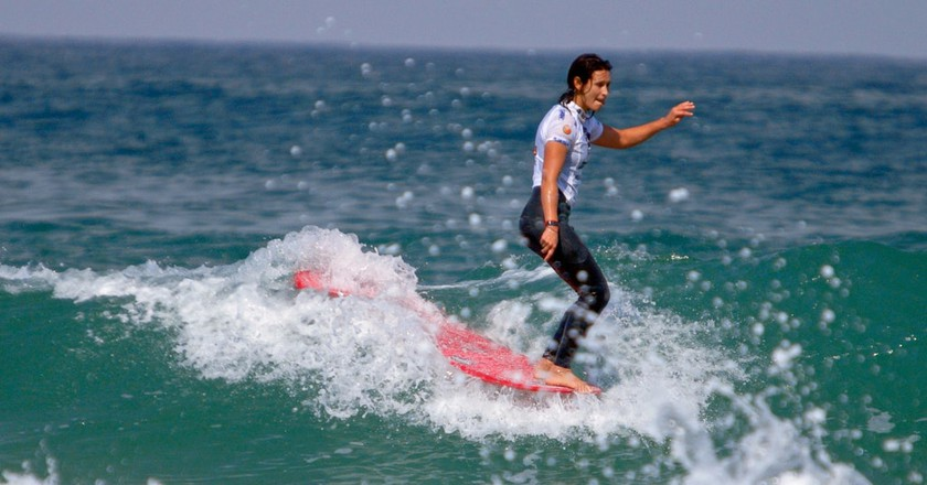 Surfer in the Ocean |Elkhiki |Flickr