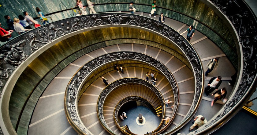 Stairs descending from the Vatican | © Vicente Villamon/Flickr