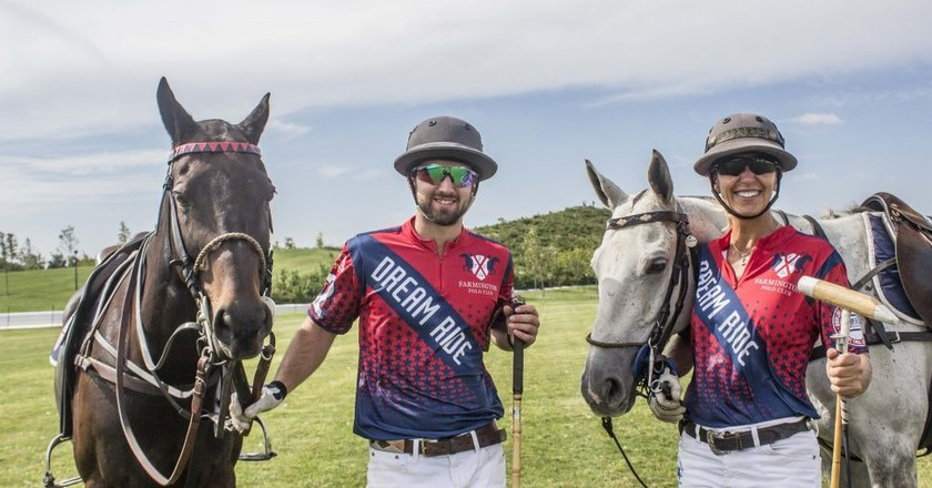 Farmington Polo Club members Patrick Marinelli and Jennifer Williams | © Amanda Suarez/Culture Trip