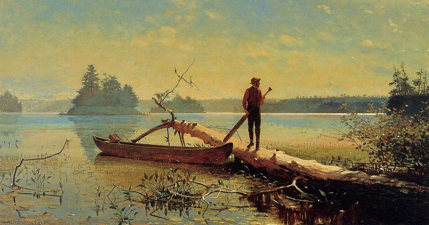 Winslow Homer, The Trapper |  © WikiCommons
