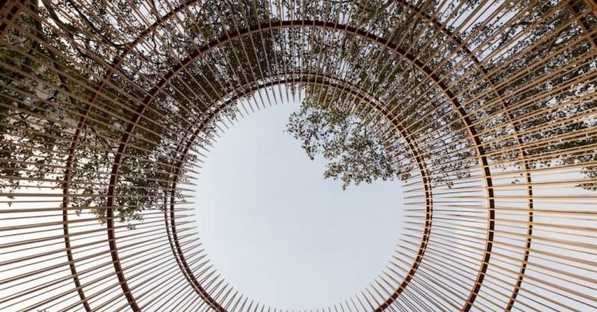 Ai Weiwei, Gilded Cage, 2017 | Photo © Ai Weiwei Studio / Courtesy Public Art Fund, NY.