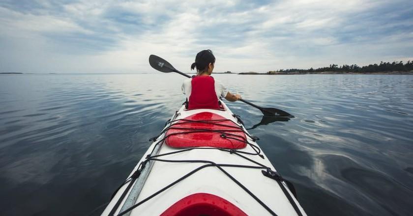 Kayaking in Georgian Bay   © OTMPC