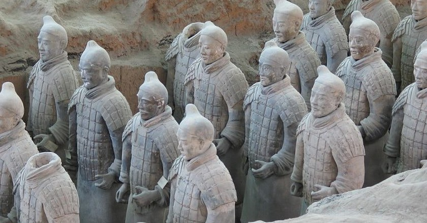 Terracotta Warriors | © Nee / French-language Wikipedia