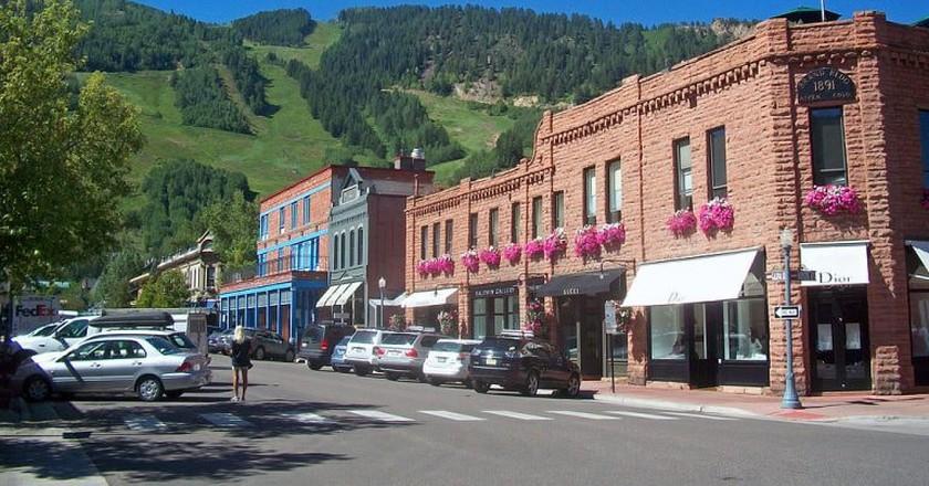 Downtown Aspen | © Daniel Case / WikiCommons