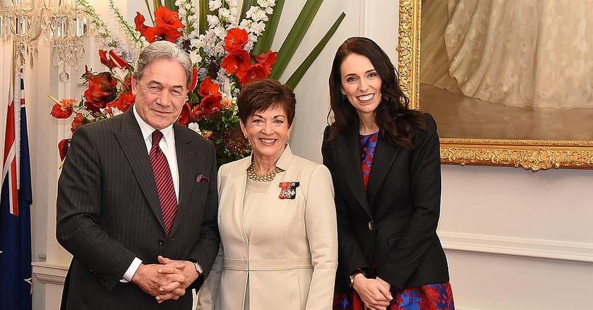 GGNZ Swearing of new Cabinet - Jacinda Ardern & Winston Peters