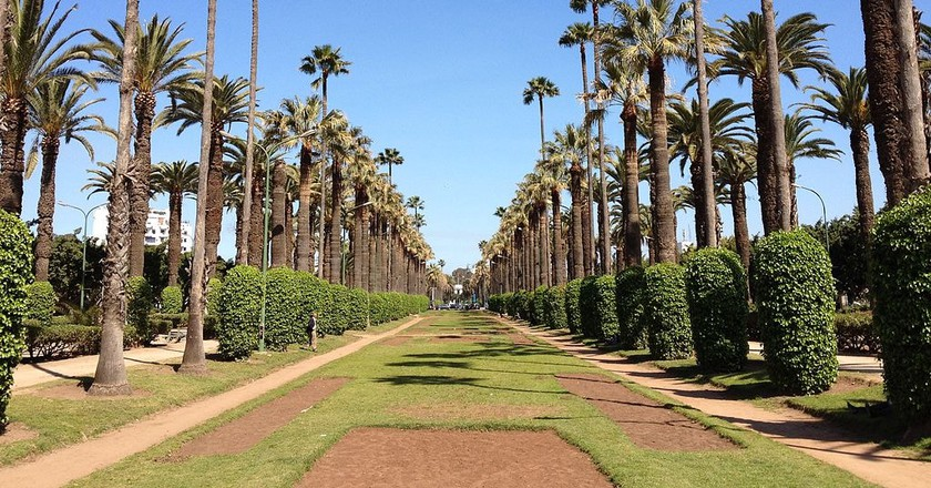 Parc de la Ligue Arabe Avenue | © Abdul-Jawad Elhusuni (عبدالجواد الحسوني)/WikiCommons