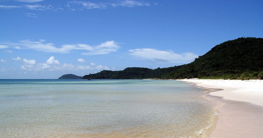 White sand at Sao Beach | © ntt/WikiCommons