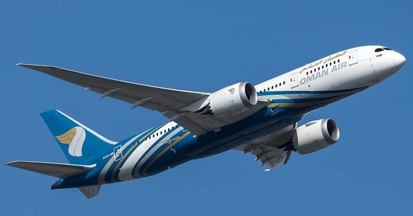 OmanAir © Tjdarmstadt/Wikipedia Commons