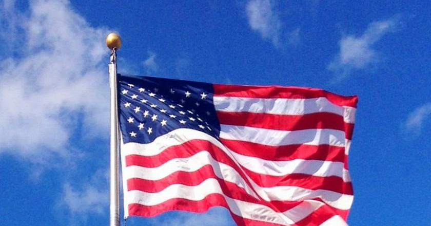 American flag   © Mike Mozart/Flickr