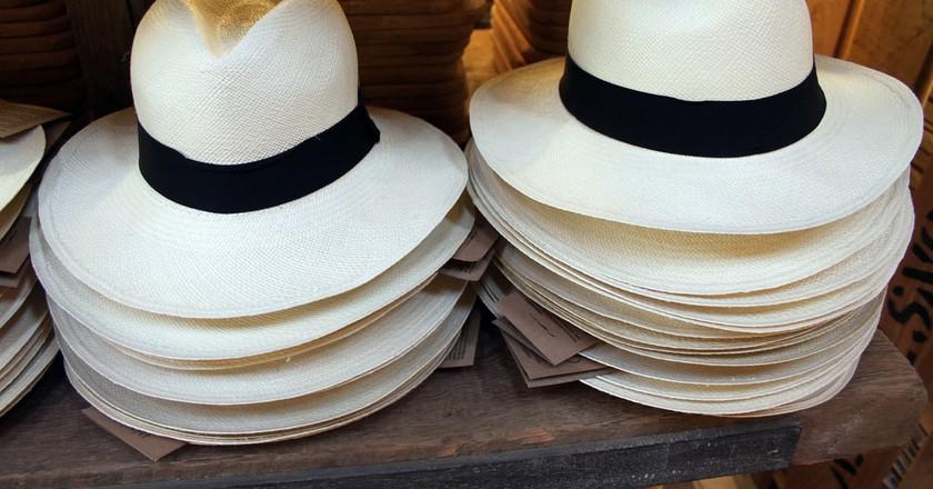 Panama hats, Babylonstoren shop | © flowcomm /Flickr