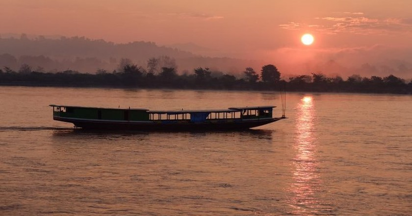 Sunrise over the Mekong River | © marguerite/Flickr