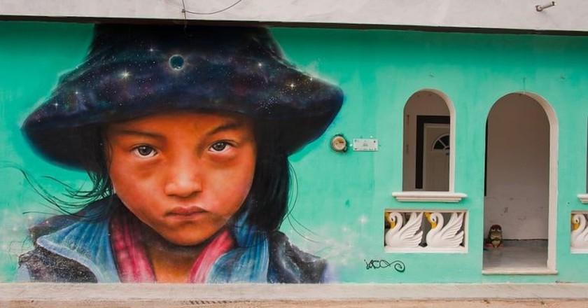 Holbox street art | © Christopher William Adach/Flickr