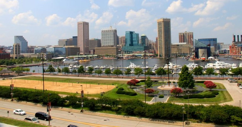 Baltimore City View
