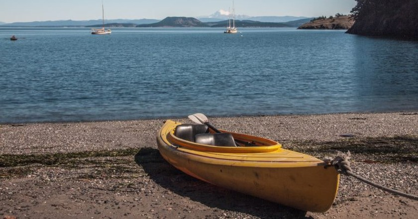 Watmough Bay Kayak, San Juan Islands | © Bureau of Land Management Oregon and Washington/Flickr