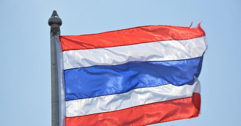Thai flag | ©Paul Arps/Flickr